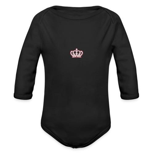 AMMM Crown - Organic Longsleeve Baby Bodysuit