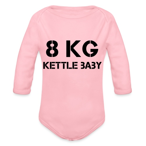 Kettlebaby 8kg - Ekologisk långärmad babybody
