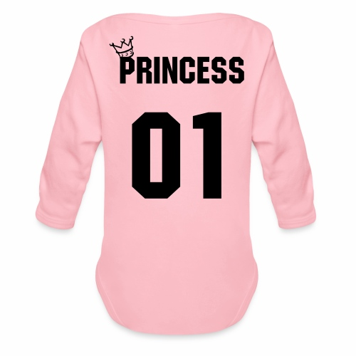 Princess - Baby Bio-Langarm-Body