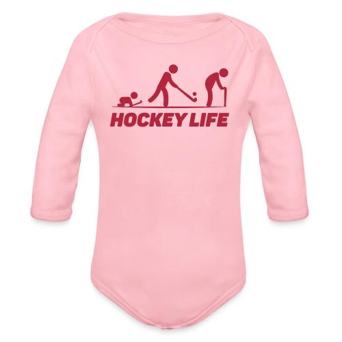 Hockey Life - Body Bébé bio manches longues
