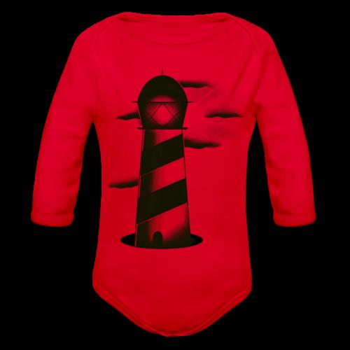 faro shirt - Body ecologico per neonato a manica lunga