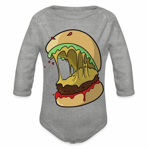 Frankenburger - Organic Longsleeve Baby Bodysuit