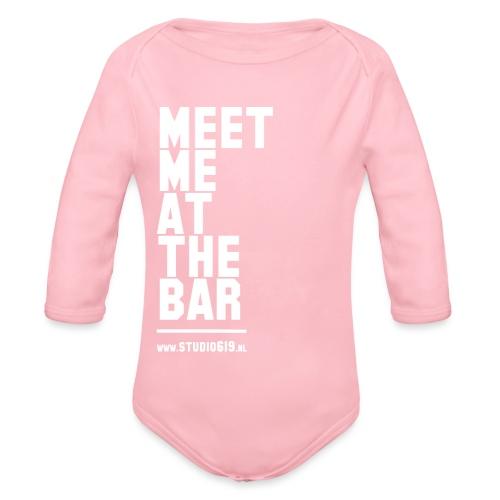 BAR - Baby bio-rompertje met lange mouwen