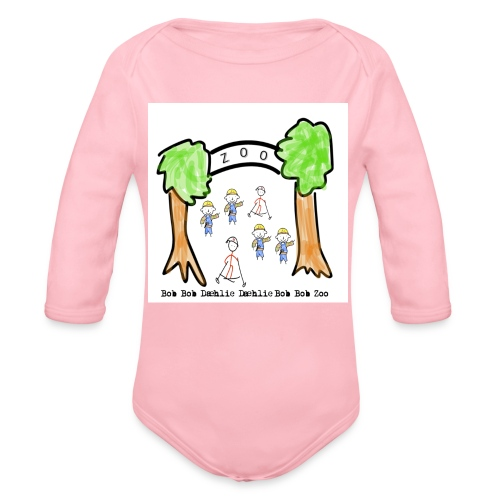 bobob png - Økologisk langermet baby-body