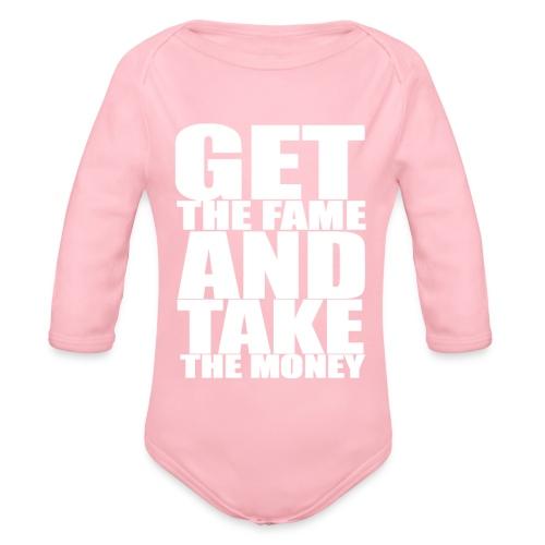 Fame paidat & hupparit - Vauvan pitkähihainen luomu-body