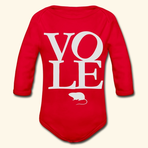 Vole - Baby Bio-Langarm-Body