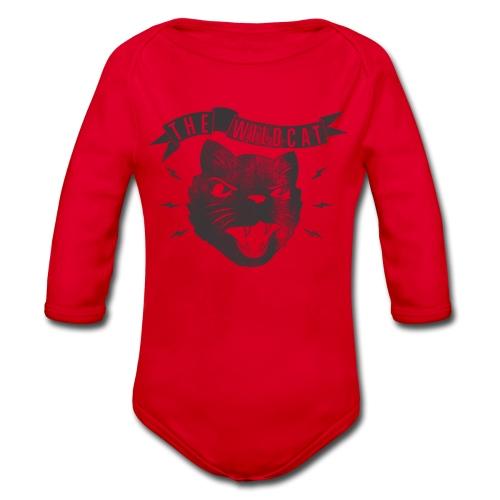 The Wildcat - Baby Bio-Langarm-Body