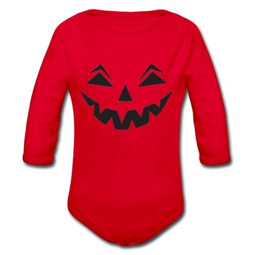 Halloween - Baby Bio-Langarm-Body