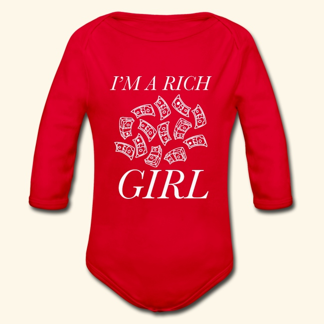 powerful I'm a rich girl T-shirt