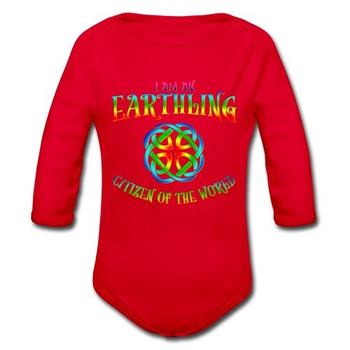 EARTHLING T-shirt - Ekologisk långärmad babybody