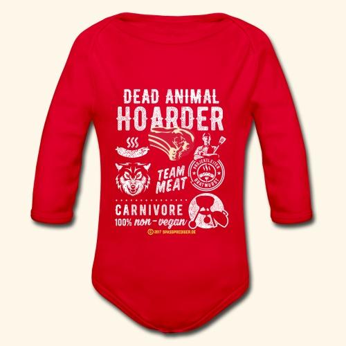 Dead Animal Hoarder - Baby Bio-Langarm-Body