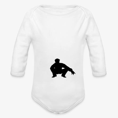 ''Take a squat'' Women's hoodie - Organic Longsleeve Baby Bodysuit