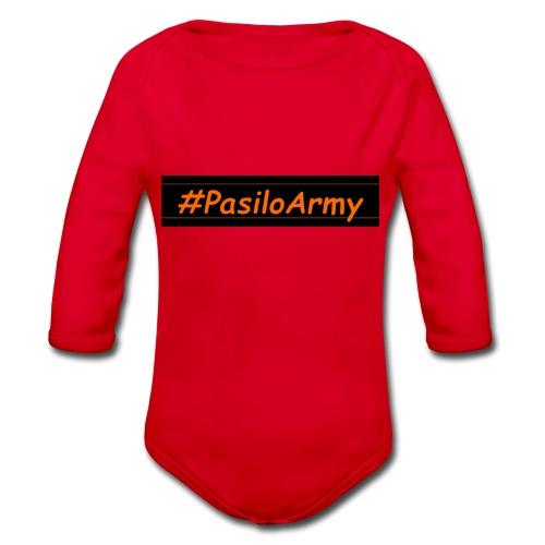 Pasilo Teddy - Organic Longsleeve Baby Bodysuit