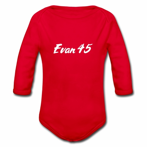 evan45 - Body Bébé bio manches longues