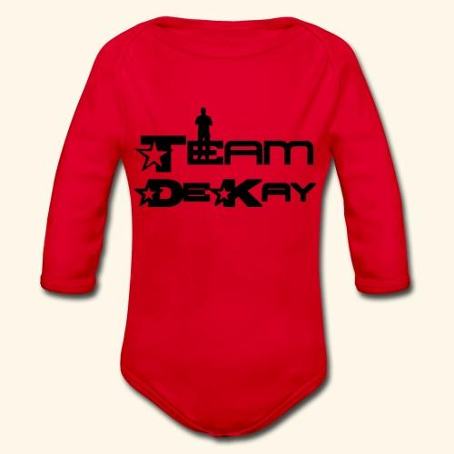 Team_Tim - Organic Longsleeve Baby Bodysuit
