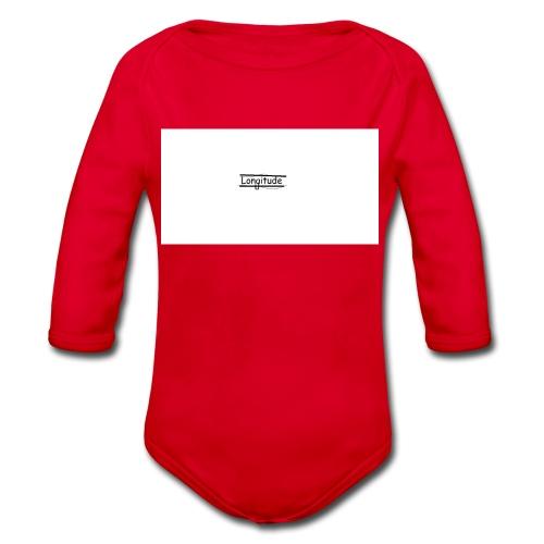 longitude - Organic Longsleeve Baby Bodysuit