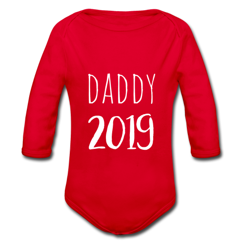 Daddy 2019 - Baby Bio-Langarm-Body