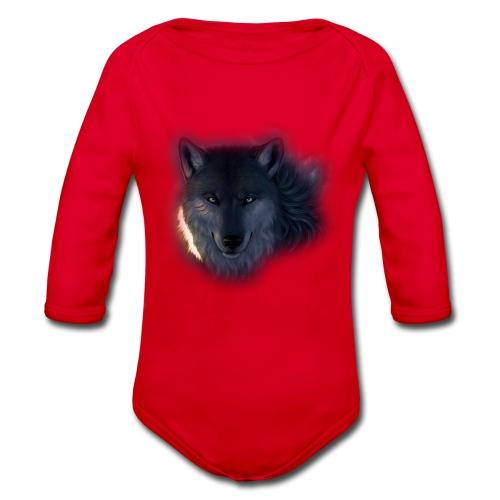 Wolf Power Edition - Organic Longsleeve Baby Bodysuit