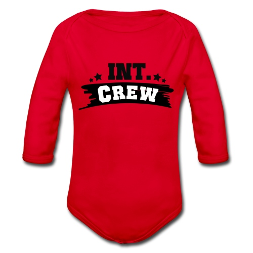 International Crew T-Shirt Design by Lattapon - Langærmet babybody, økologisk bomuld