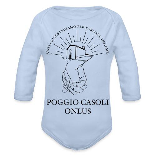 Poggio Casoli Onlus_UNITI - Body ecologico per neonato a manica lunga