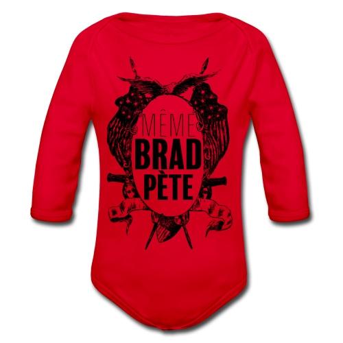 Même Brad Pète - Body bébé bio manches longues