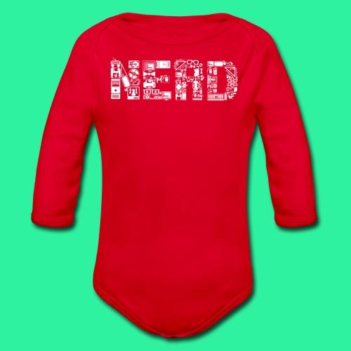 Nerd - Baby Bio-Langarm-Body