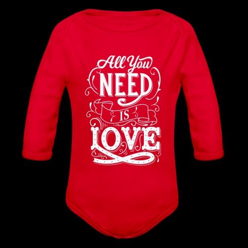 All You Need Is Love - Baby Bio-Langarm-Body