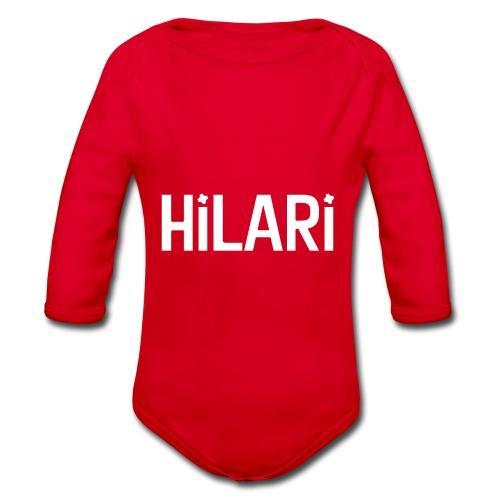 Hilari <3 - Baby Bio-Langarm-Body