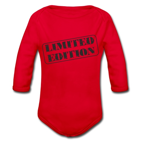 Limited Edition - Baby Bio-Langarm-Body