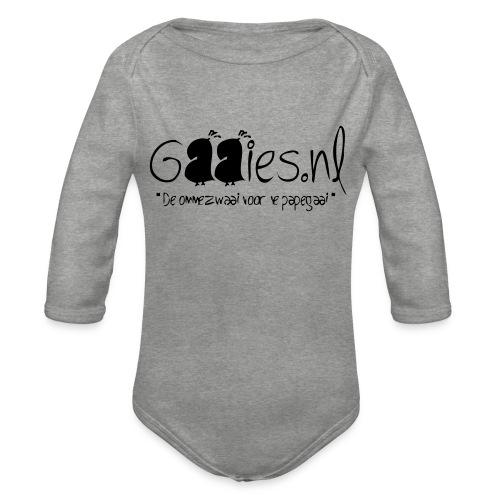 gaaies - Baby bio-rompertje met lange mouwen