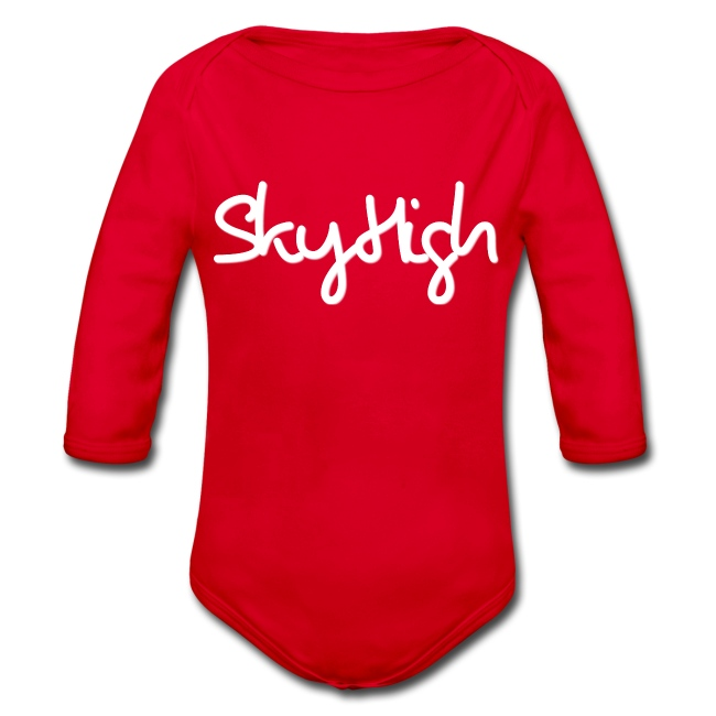 SkyHigh - Men's Premium T-Shirt - White Lettering
