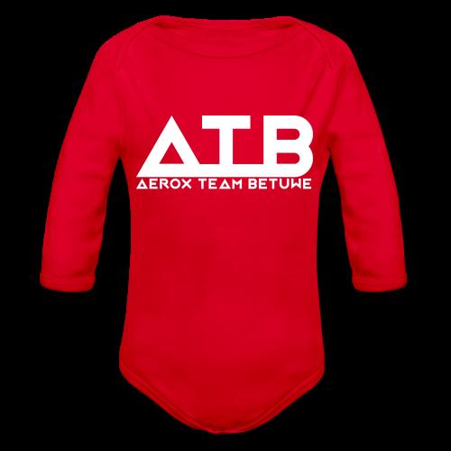 ATBWhite - Baby bio-rompertje met lange mouwen
