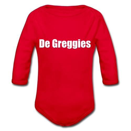De Greggies Sweater - Baby bio-rompertje met lange mouwen