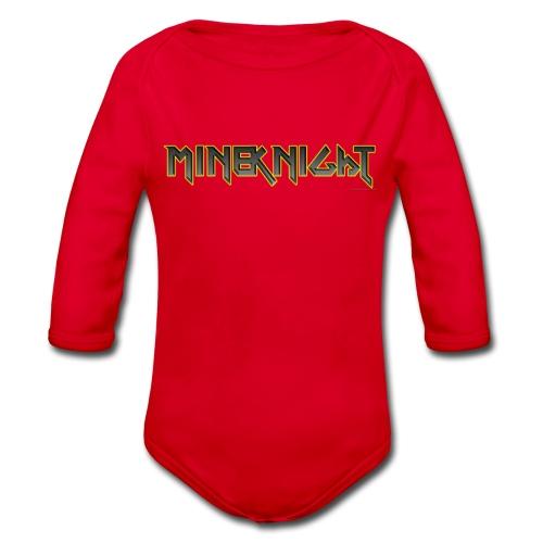MineKnight T-shirt - Ekologisk långärmad babybody