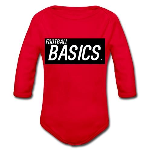 BLACK_AND_WHITE - Organic Longsleeve Baby Bodysuit
