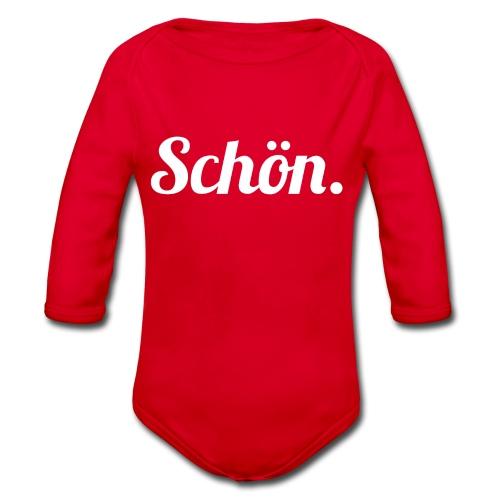schoen - Baby Bio-Langarm-Body