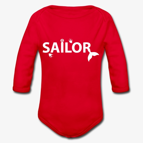 Sailor - Organic Longsleeve Baby Bodysuit