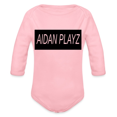 AIDAN - Organic Longsleeve Baby Bodysuit