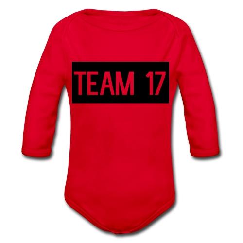 Team17 - Organic Longsleeve Baby Bodysuit
