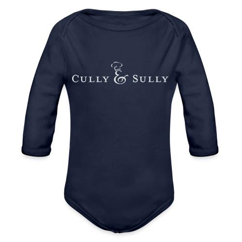 cands white - Organic Longsleeve Baby Bodysuit