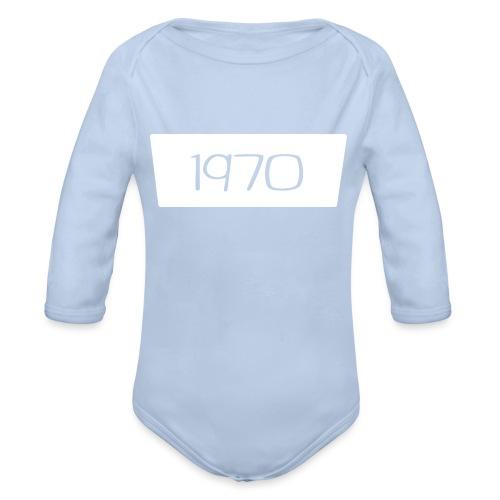 1970 - Baby bio-rompertje met lange mouwen