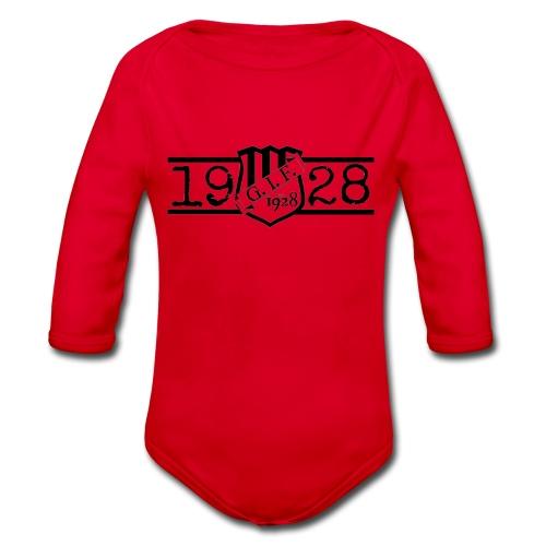 GIF 1928 Logo - Ekologisk långärmad babybody