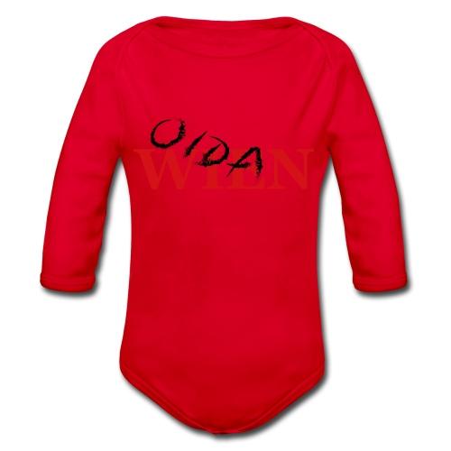 Wien Oida - Baby Bio-Langarm-Body