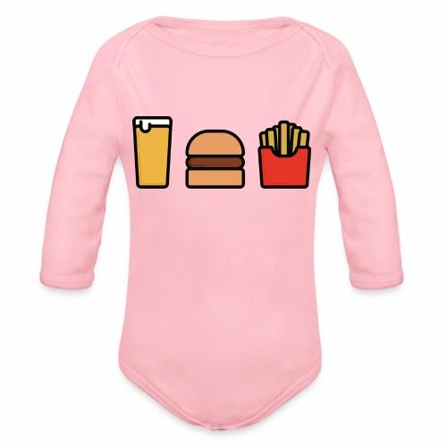 Meal Deal - Organic Longsleeve Baby Bodysuit