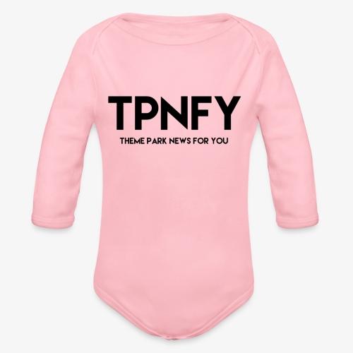 TPNFY - Organic Longsleeve Baby Bodysuit
