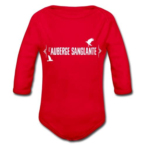 L'auberge Sanglante - Body Bébé bio manches longues