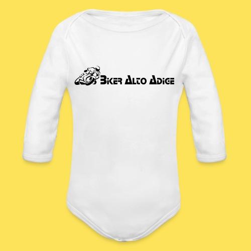 BikerAltoAdige Snap - Body ecologico per neonato a manica lunga
