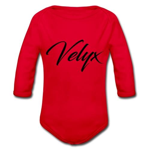 Velyx - Body ecologico per neonato a manica lunga