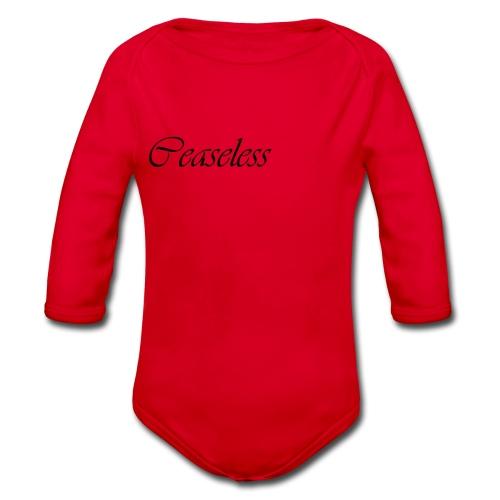 ceaseless - Organic Longsleeve Baby Bodysuit