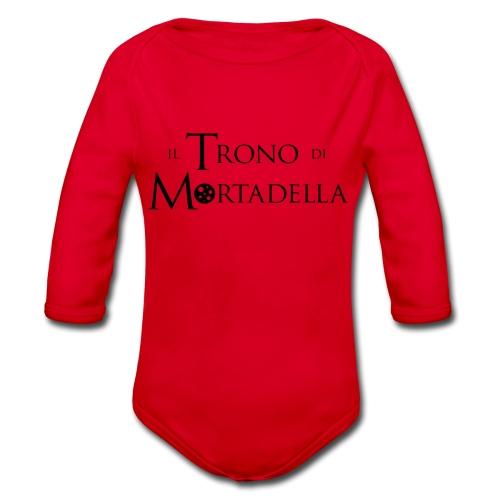 T-shirt donna Il Trono di Mortadella - Body ecologico per neonato a manica lunga